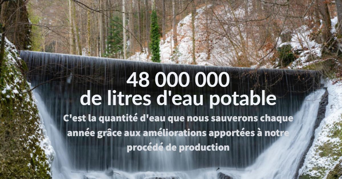 Économie d'eau PolyExpert